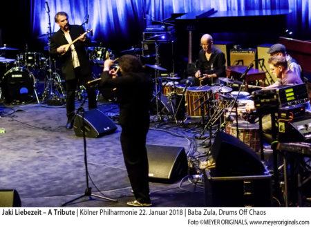 Jaki Liebezeit – A Tribute Koelner Philharmonie January 22, 2018
